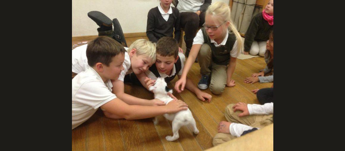 September 2014 Besuch der Grundschule