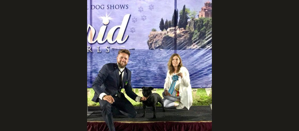 Internationale Hundeausstellung in Ohrid/Mazedonien