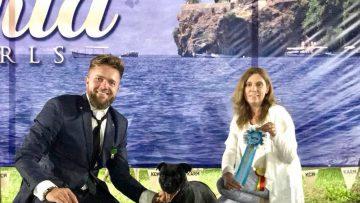 Internationale Hundeausstellung in Ohrid/Mazedonien
