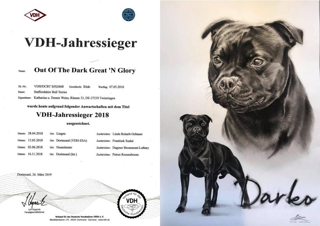 Great N Glory Staffordshire Bull Terrier Welpen Zucht